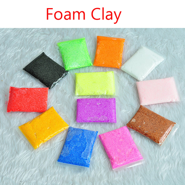 Excellent Play Foam slime Modeling Clay Magic Plasticine magnetic Polymer Clay Playdough Children's Educational Toys Gift