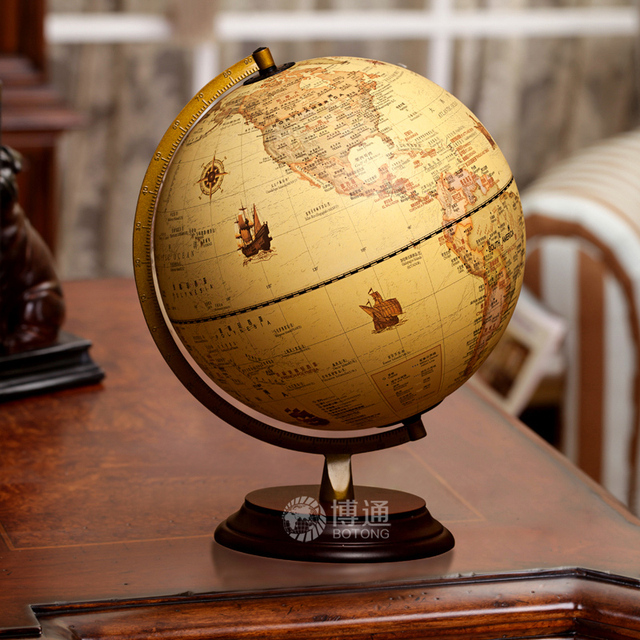 Aliexpress.Com : Buy 9 Inch Retro Style Geography Earth Globe