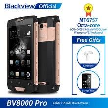 Blackview BV8000 Pro Smartphone Waterproof MT6757 Octa-Core