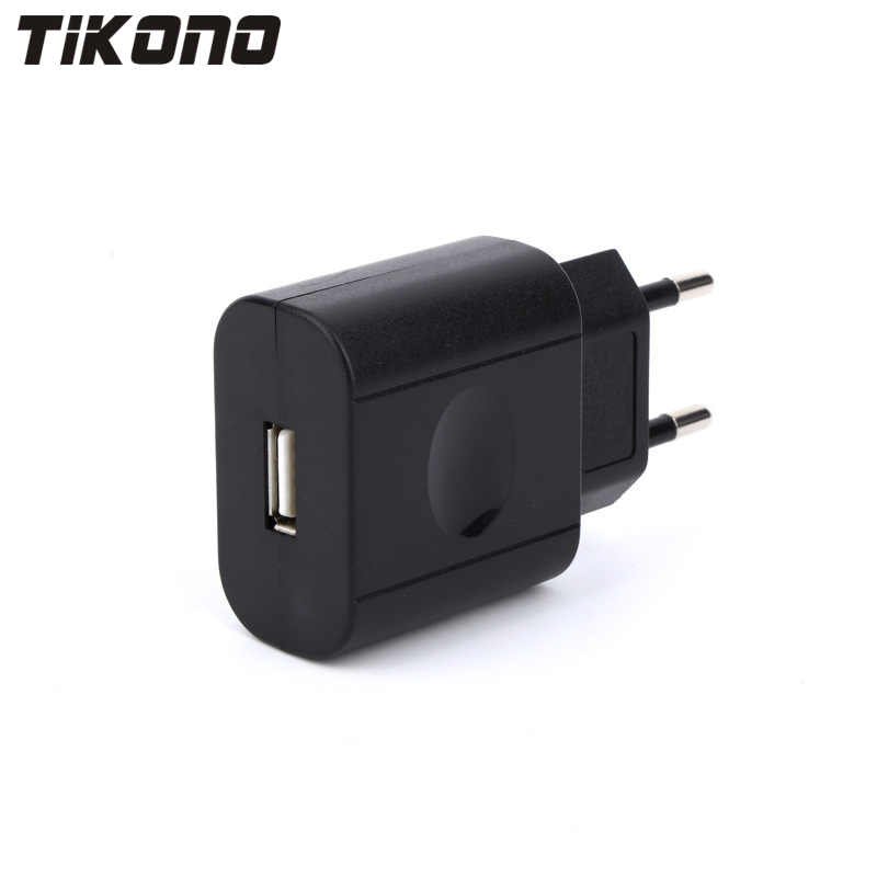 Tikono 5V 2A Universal USB Fast Speed ​​Charger για iPhone Samsung Xiaomi HTC Sony LG & iPad Tablets Travel Wall Charger
