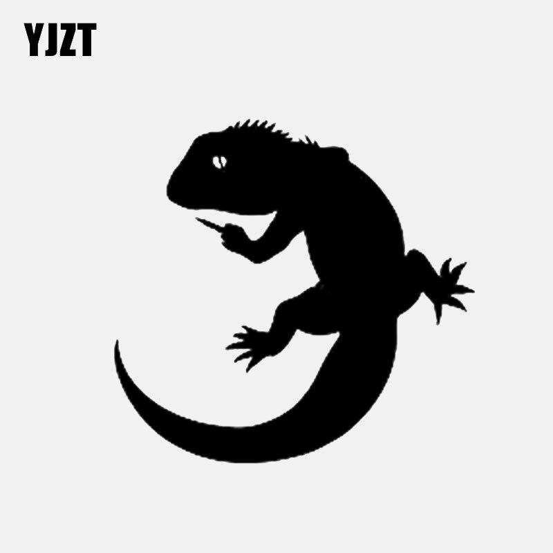 Automobiles & Motorcycles Punctual Yjzt 13.6*13cm Komodo Dragon Monitor Lizard Decor Car Stickers Vinyl Black/silver Accessories C12-1165 Car Stickers
