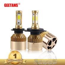 Светодиодные лампы для автомобильных фар h7 h4 h11 h8 h9 светодиодный