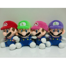 20cm Super Mario font b plush b font dolls Super Mario Soft font b Plush b