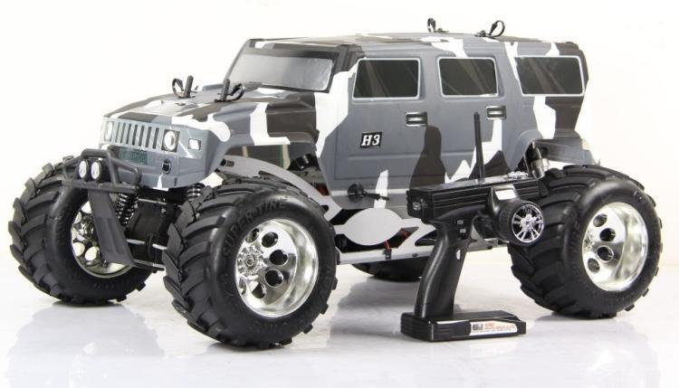 1:5 Gas 26CC 4WD hummer RTR 1 5 gas 26cc 4wd hummer rtr