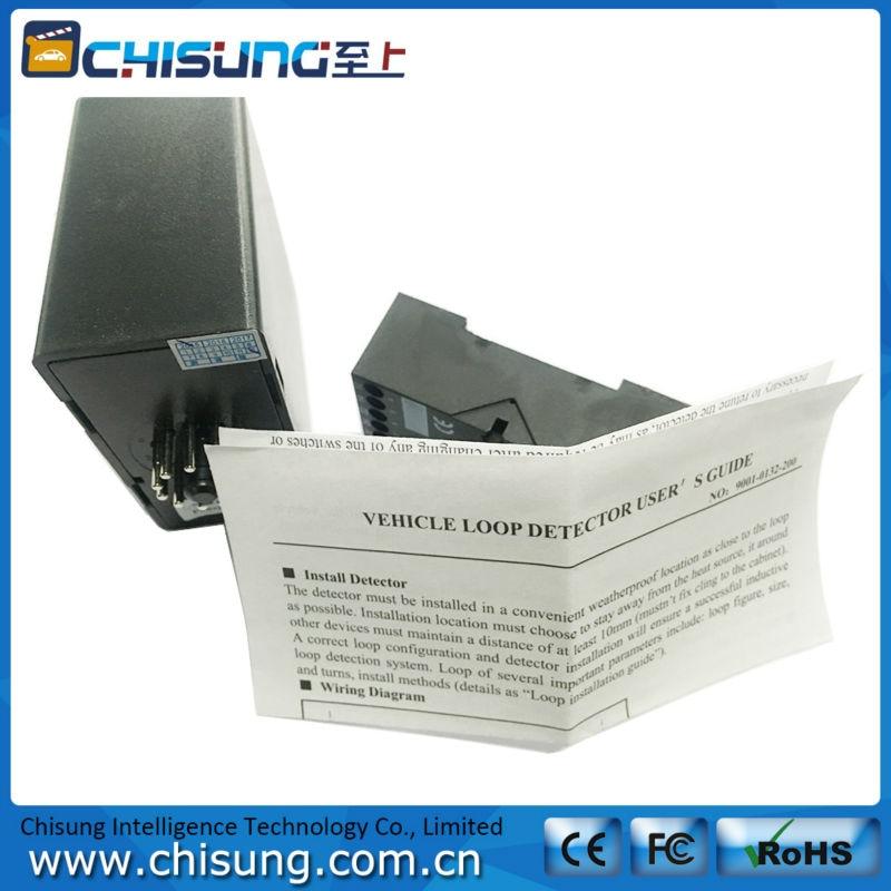 PD132 car parking inductive loop detector for vehicle parking access/door detector