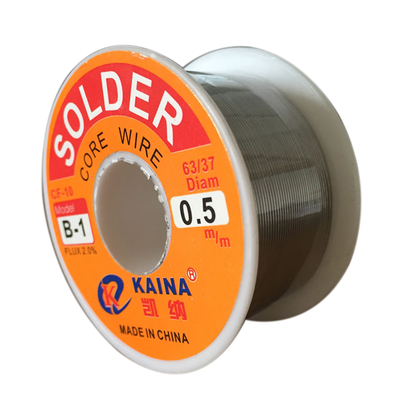 50g/100g Welding Soldering Wire 63/37 Rosin Core Tin Lead Solder Iron Wire Reel 0.5mm/0.6mm/0.8mm/1.0mm/2.0mm