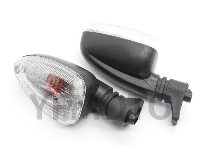 Motorcycle A Pair Turn Signal Indicator Lights For BMW K 1200R K 1200S R 1200GS K 1300R CLear Lens