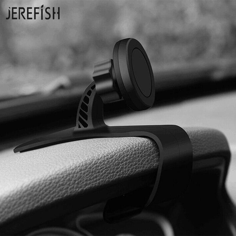 JEREFISH Universal Antiskid Car Phone Holder Magnetic Phone Holder 360 Adjustable Phone Car Dashboard Holder Bracket for iPhone|holder bracket|magnetic phone holder 360|magnetic phone holder - title=