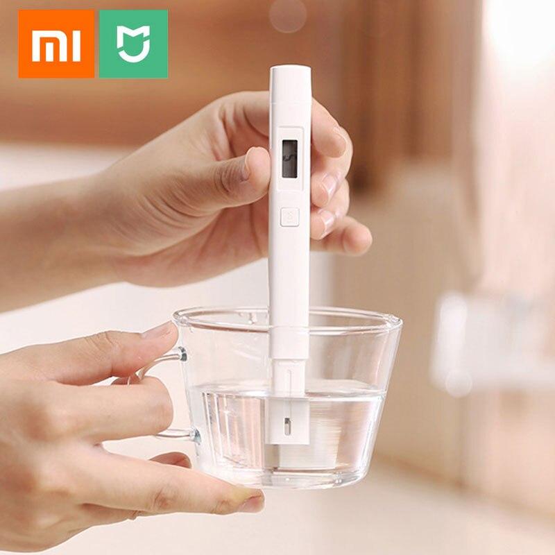 Medidor Original Xiaomi Mijia TDS medidor de agua calidad pureza detección portátil PH EC TDS-3 prueba medidor inteligente Digital