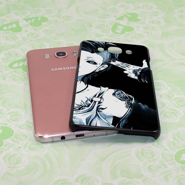 Anime Tokyo Ghouls Hard Black Samsung Phone Case