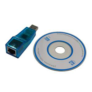 1 pcs USB 1.1 To LAN RJ45 Ethernet 10100Mbps Network Card Adapter blue for PC Promotion