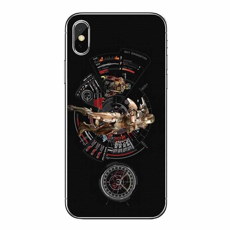 Безупречные отрасли Железный человек реактор покрытый кожухом с героями комиксов Марвел, ваш логотип на нашем товаре samsung Galaxy Note 8 9 S9 S10 A8 A9 Star Lite Plus A6S A9S чехлов для мобильных телефонов