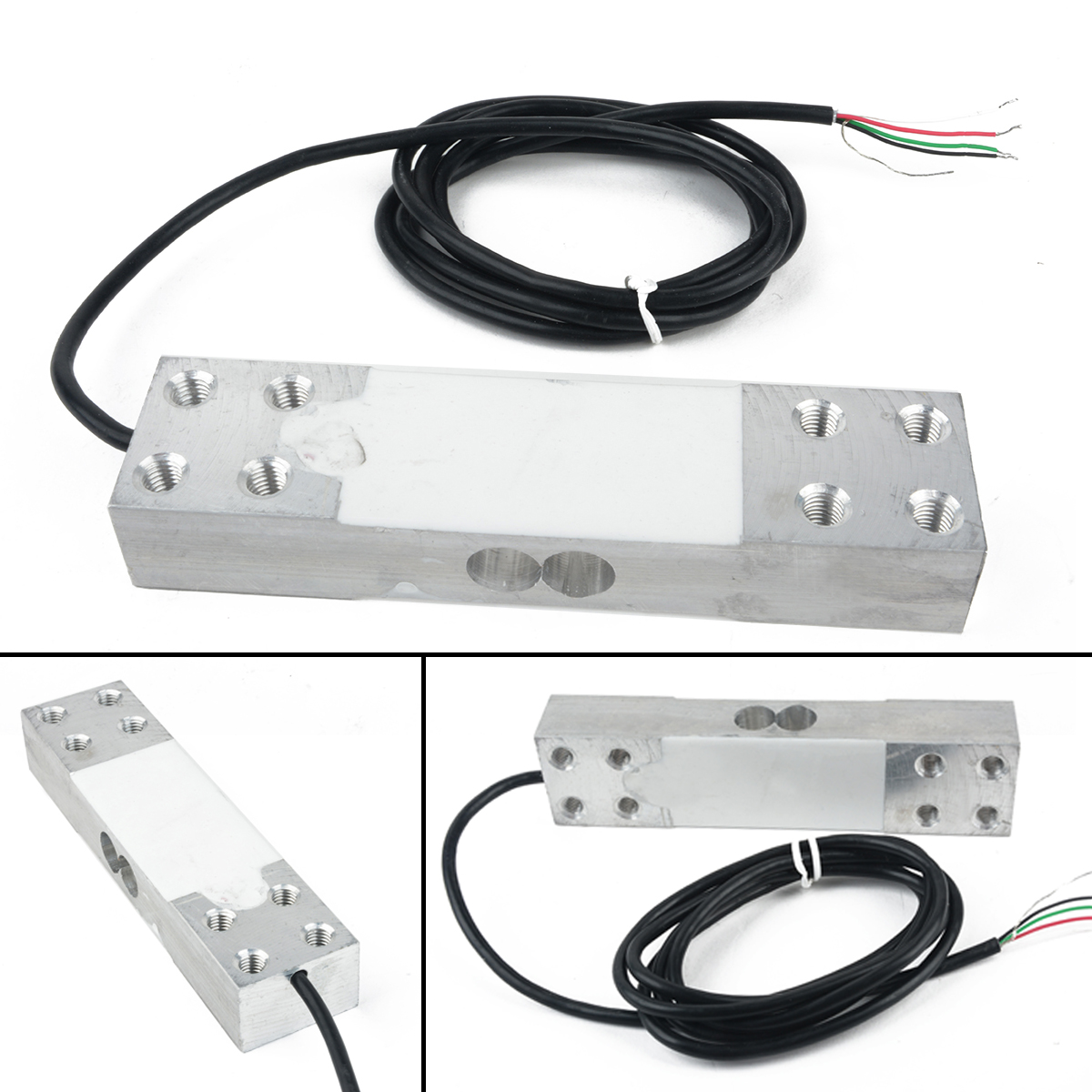 1pc Portable Electronic Balance Platform Scale Load Cell Weight Weighing Sensor 200kg 5V-12VDC Mayitr Precision Tool Parts pressure sensor output amplifier 0 10v 4 20ma transmitter rw st01a weighing force measurement balance load cell amplifier
