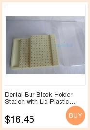 f2f618fefcdf3 Dental 60 Fori Disinfezione Caso Frese Holder Box blu Autoclave - a318