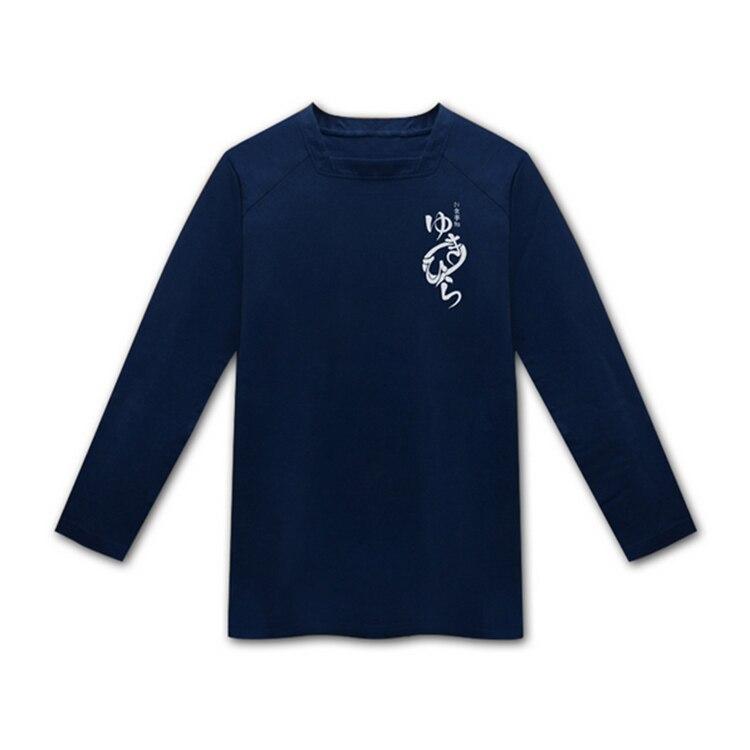 Кулинарные поединки сомы Косплей Футболка Yukihira Souma с длинными рукавами футболка - Цвет: long sleeve tshirt