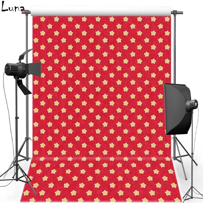 Vinilo tela fotografía Fondos para recién nacido estrella roja nueva Telas  franela backdrops para los niños photo studio props s1940 12204863f74