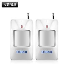 KERUI P815 2 teile/los drahtlose alarm PIR Infrarot sensor detektor mit lange ermitteln abstand Für G18 W18 sicherheit alarm system