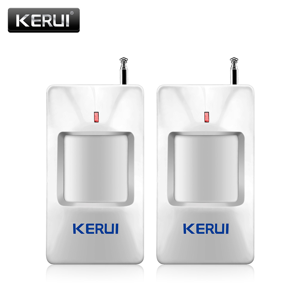 KERUI P815 2pcs/lot Wireless Alarm PIR Infrared Sensor Detector With Long Detect Distance For G18 W18 Security Alarm System