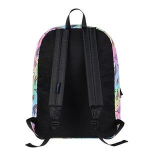 Image 4 - Modny plecak dla kobiet kobiety jednorożec mały ładny plecak torby podróżne dla nastoletnich dziewcząt plecak bagpack bag