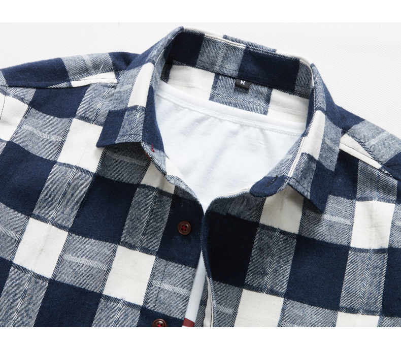 XMY3DWX products sell like hot cakes men long sleeve shirt men grid thin body hair fashion Grinding MAO casual shirt/size S-4XL 58