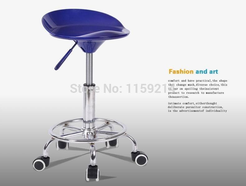 Foot Nail Lifting bar chair barber shop salon chair simple fashion Bar Stool tea house Home bench European style bar chair real wood bar chair european bar chair iron art chair rotate the front chair