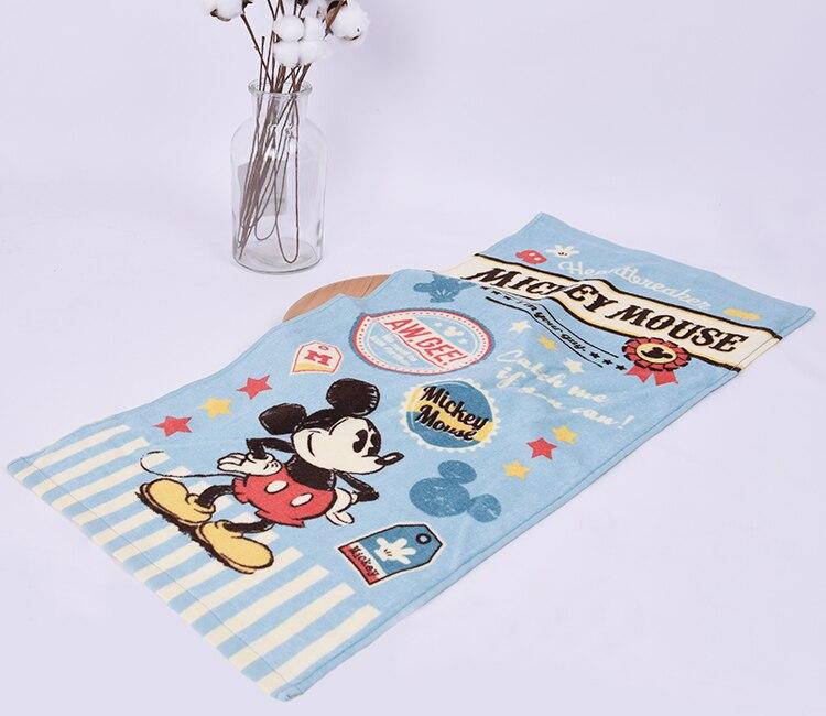 Neue Mickey Minnie Handtücher 34x75 Cm Baby Mädchen Junge Taschentuch Pflege Frottee Gedruckt Gesicht Baumwolle Handtuch Microfibra Zakdoek