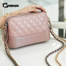 CGmana Handbags Women 2018 High Quality Leather Bags Female Famous Brands Party Purses Handbags Luxury Chain Clutches Women Bags недорго, оригинальная цена
