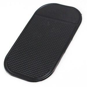 Image 1 - 1 sztuk Nano Car magiczne anty poślizgu akcesoria do wnętrza samochodu dla telefonu komórkowego Mp3 mp4 GPS antypoślizgowe samochodowe lepkie  mata antypoślizgowa