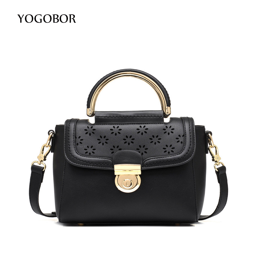 ФОТО Hot Flap Women's Luxury Leather Black Clutch Bag Ladies Handbags Brand Women Messenger Bags Sac A Main Femme 2017 Short Handle