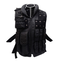 Tactical Military Vest Paintball CS Assault Shooting Men Hunting Clothes with Holster Jungle Protection Airsoft Army Swat Vest