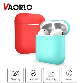 Coque en silicone souple TPU pour Airpods 2nd housse de protection accessoires de peau pour TWS I20 I30 I60 I10 I12 écouteurs Bluetooth sans fil