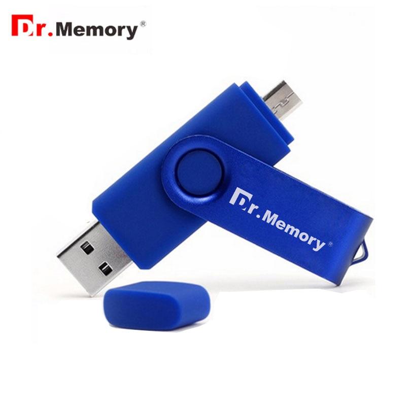 Dr. памяти флэш-накопитель USB OTG металлический смартфон ручка привода 8 ГБ 16 ГБ 32 ГБ флэш-накопитель для Android memory stick mini OTG флешки