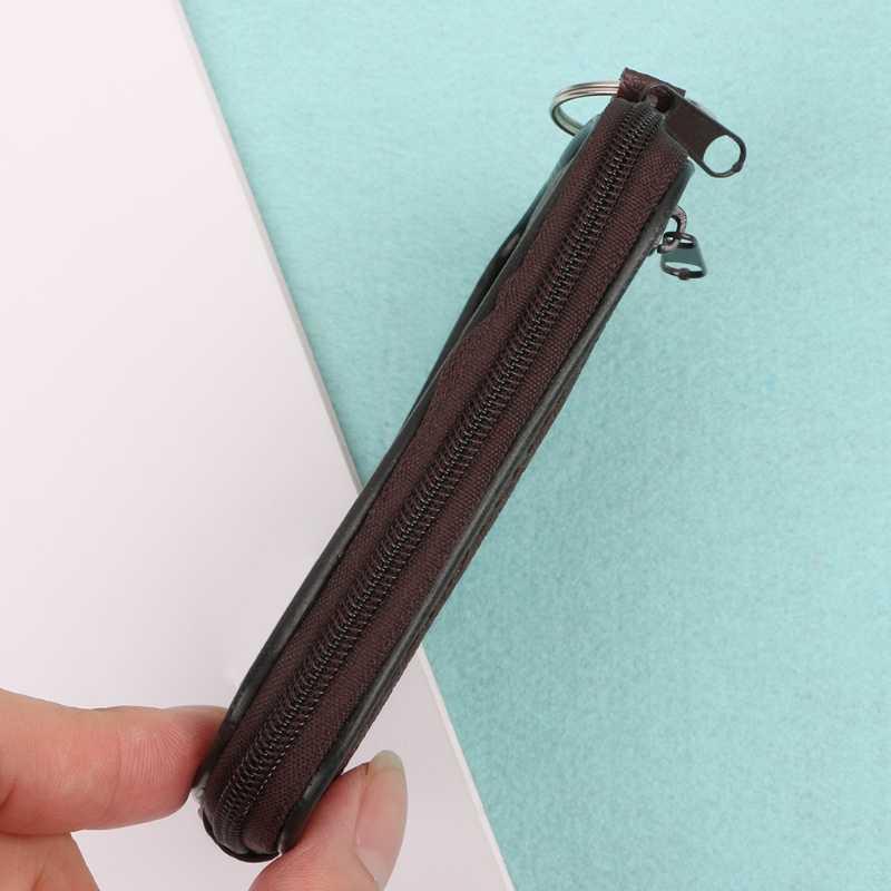لينة الرجال النساء بطاقة عملة مفتاح حامل البريدي تغيير الحقيبة محفظة كيس مزموم محفظة هدية