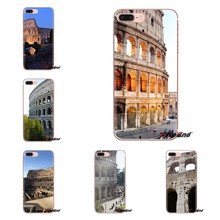 Famous colosseum Rome Italy For Xiaomi Redmi 4A S2 Note 3 3S 4 4X 5 Plus 6 7 6A Pro Pocophone F1 Transparent Soft Shell Covers(China)
