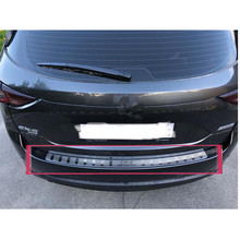 Защита заднего внешнего бампера, Накладка на порог, прикрытие потертостей, аксессуары, подходят для Mazda CX-5 CX5-, автомобильный стиль
