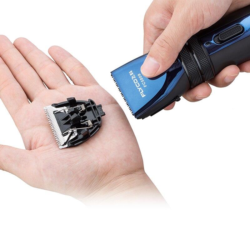 FLYCO tondeuse à cheveux électrique Rechargeable tondeuse à cheveux Machine de coupe de cheveux pour couper les cheveux tondeuse à barbe étanche FC5809 - 3