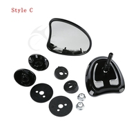 10mm Inner Fairing Mount Mirrors For Harley Touring Batwing Fairing Street Glide Tri Glide Ultra Limited 2014-2017 15 6
