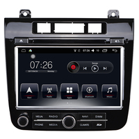 Car DVD Player Radio System 8 inch 2 din Video Format Car Stereo bluetooth multimedia player for VW Touareg 2015