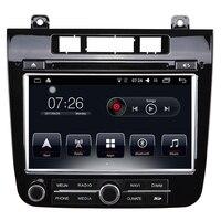 Dvd плеер автомобиля Радио система 8 дюймов 2 din видео формат автомобильный мультимедийный плеер, стерео bluetooth для VW Touareg 2015