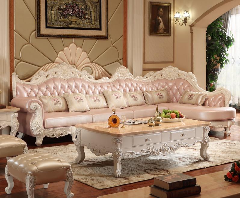 2017 High Quality Leather Sofa/living Room Sofa Furniture/sofa Set L Shape  Big Home Used Genuine Leather Sofa Part 77