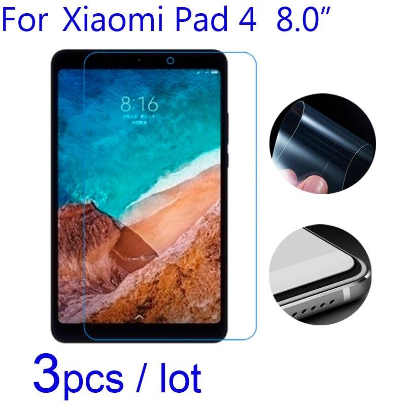3pcs Soft Screen Protectors for Xiaomi Mi Pad 4 Plus Clear/Matte/Nano Anti-Explosion Protective Film for Xiomi Mipad 4 4+ Tablet3pcs Soft Screen Protectors for Xiaomi Mi Pad 4 Plus Clear/Matte/Nano Anti-Explosion Protective Film for Xiomi Mipad 4 4+ Tablet