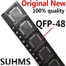 (5 10 חתיכה) 100% חדש STM32F103C8T6 STM32F 103C8T6 QFP 48 ערכת שבבים