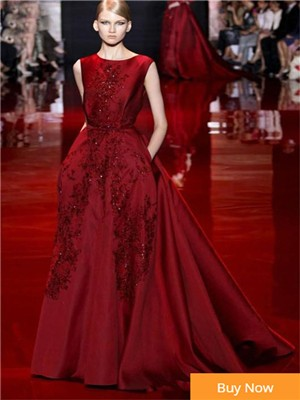 New-Arrival-Elie-Saab-Burgundy-Evening-Dress-With-Appliques-Moroccan-Kaftan-Sexy-Backless-Prom-Dresses-Formal