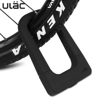 Safety Bike U Lock Steel MTB Road Bike Bicycle Cable Lock Anti theft Heavy Duty Lock Alloy Strong Padlock for Motorcycle U Lock