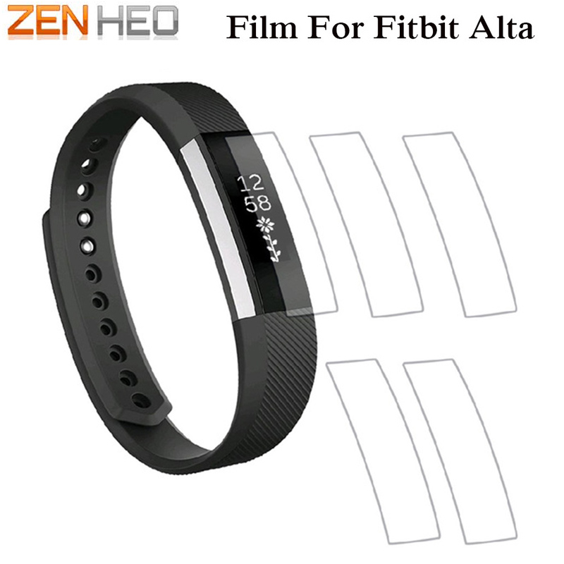 1PC/3PC/5PC For Fitbit Alta Protector Film Ultrathin AntiExplosion Screen Protector Film For Fitbit Alta Smart Wristband Strap