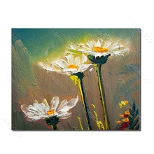 Laeacco Nordic Style Painting in Canvas Flower Dandelion Prints and Posters Wall Artwork Living Room Bedroom Home Decor