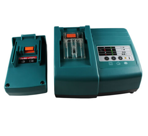 ФОТО Charger for Makita 18V BL1830 BL1815 14.4V BL1430 Li-ion battery, replace DC14SA