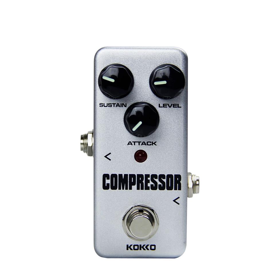 buy kokko fcp2 mini compressor pedal portable guitar effect pedal true bypass. Black Bedroom Furniture Sets. Home Design Ideas