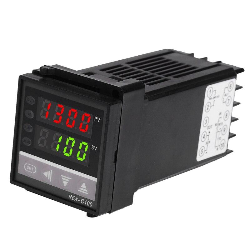 48 * 48 mm-es digitális PID hőmérsékletszabályozó hőelem RTD - Mérőműszerek - Fénykép 3