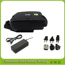 Electric Bike Ebike 36V 15AH Li-ion Battery with F rog Case, BMS and Charger Bike Electric Bicycle Battery For Electric Scooter